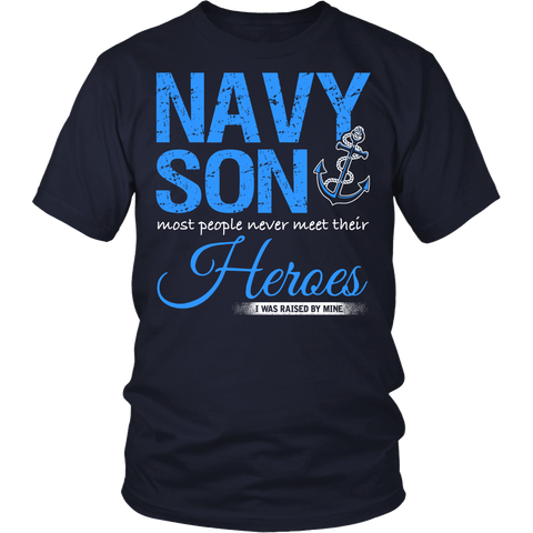 Navy Son T-shirt