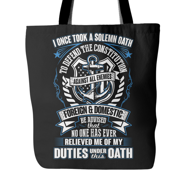 Navy Veteran Tote Bag (2nd Version)