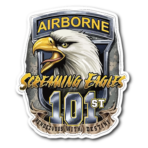 Army Airborne Decal with FREE SHIPPING!