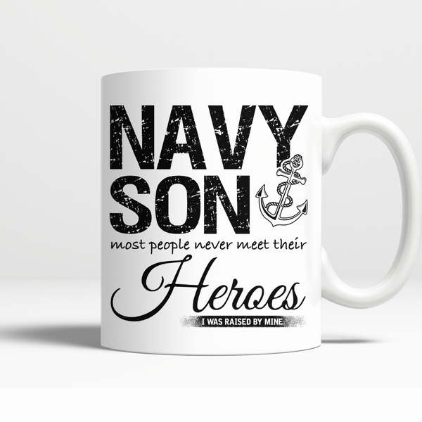Proud Navy Son Mug