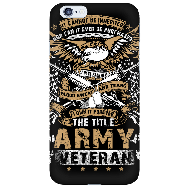 Army Veteran - Phone Case