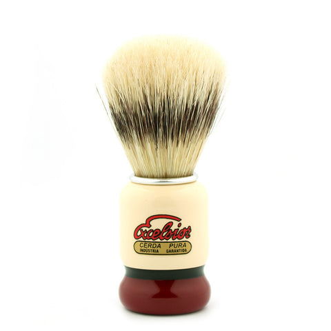 Semogue 1438, Boar Bristle Shaving Brush - Alpha Yard  - 1