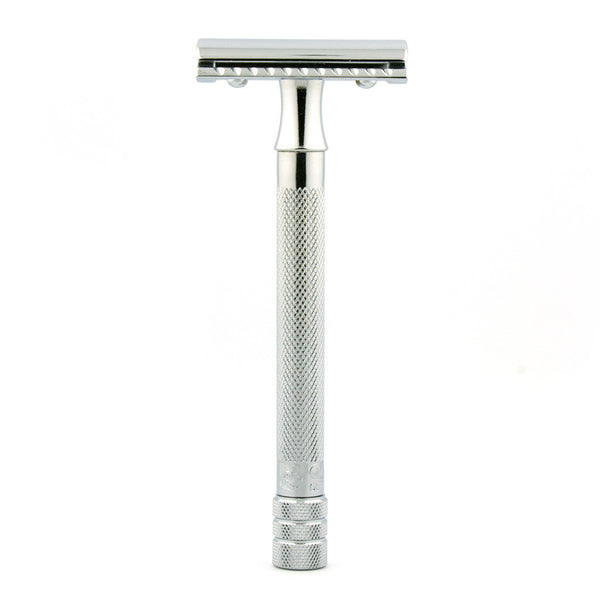 Merkur 23C, Closed Comb Safety Razor, Long Handle - Clearance - Alpha Yard  - 1