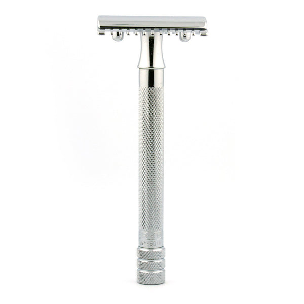 Merkur 25C, Open Comb Safety Razor, Long Handle - Alpha Yard  - 1