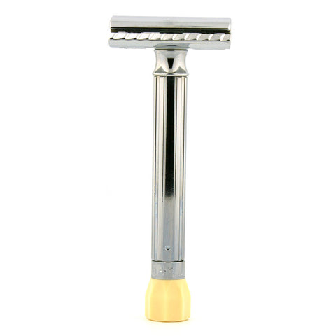 Merkur 510 Progress, Adjustable Safety Razor, Long Handle - Alpha Yard  - 1