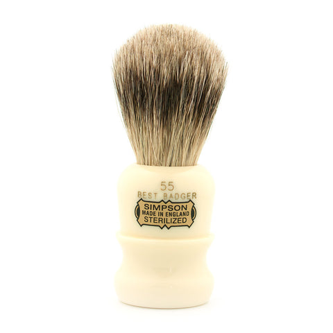 Simpson 55, Best Badger Shaving Brush - Alpha Yard  - 1