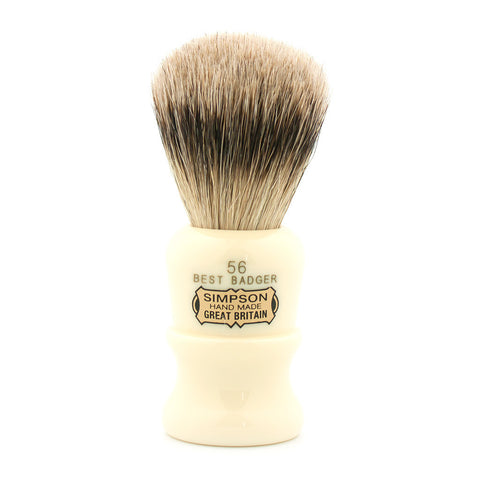Simpson 56, Best Badger Shaving Brush - Alpha Yard  - 1