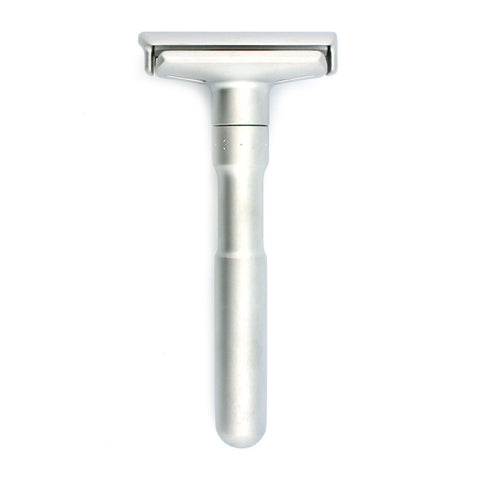 Merkur Futur 700, Adjustable Brushed Safety Razor - Alpha Yard  - 1
