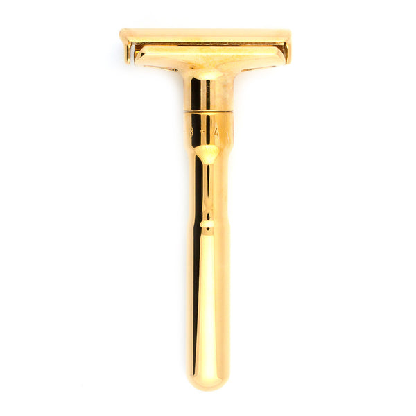 Merkur Futur 702, Adjustable Gold Safety Razor - Alpha Yard  - 1