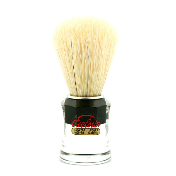 Semogue 820 Black, Boar Bristle Shaving Brush - Alpha Yard  - 1