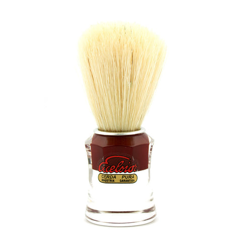 Semogue 820 Red, Boar Bristle Shaving Brush - Alpha Yard  - 1