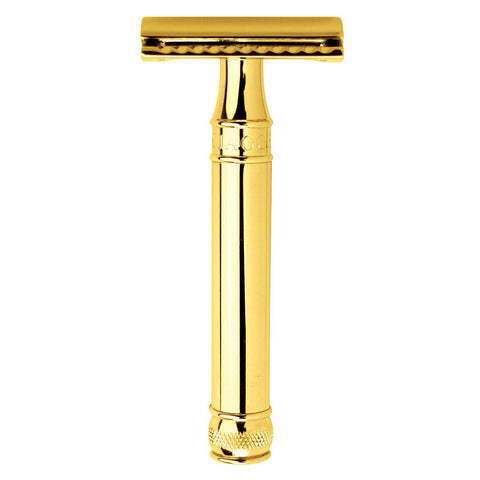 Edwin Jagger Safety Razor, Gold - Alpha Yard