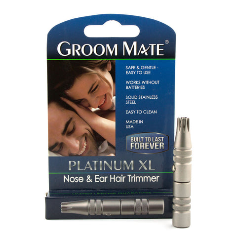 Groom Mate Platinum XL, Ear/Nose Hair Trimmer - Alpha Yard  - 1