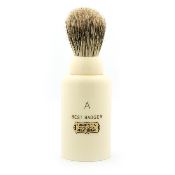Simpson Major M1, Best Badger Shaving Brush - Alpha Yard  - 1