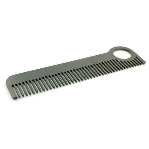 Chicago Comb Co. Hair Comb, Black (Model 1) - Alpha Yard  - 1
