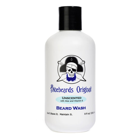 Bluebeards Original Beard Wash, Unscented - Alpha Yard