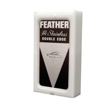 "Feather ""Black"" Hi-Stainless Blades - Alpha Yard"