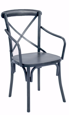Industrial Chair with Arms