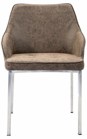 Hudson Dining Chair Brown