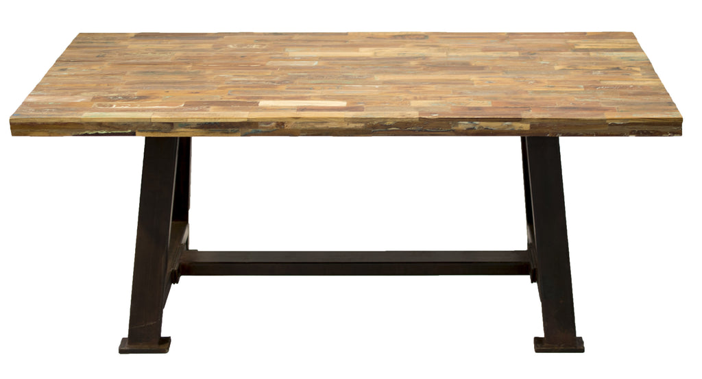 Barn Wood Top Dining Table