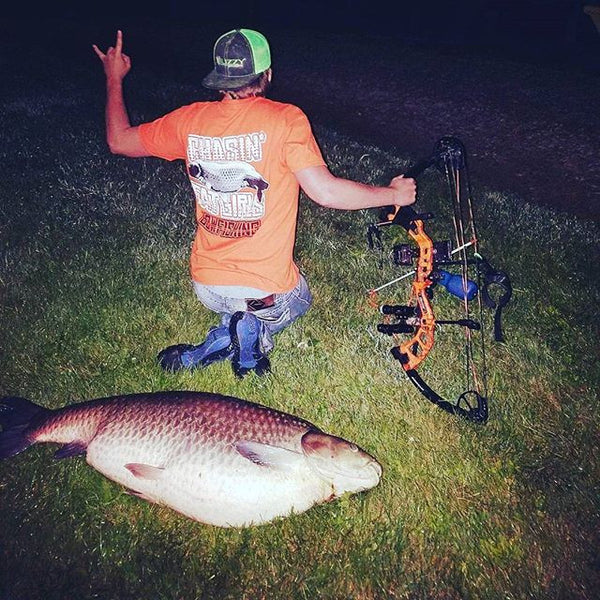 Lucky Shirt = Lucky Grass Carp!