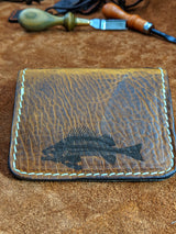 El Hefe:  Bonefish Aztec Lined Wallet - Shirt Guys Bowfishing and Hunting T-Shirts