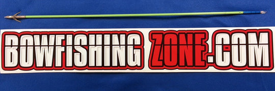 Bowfishing Zone Original Sticker - 5 1/2