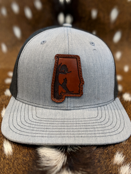 State of Alabama Coon Dog PATCH Hat - ShirtGuys.com