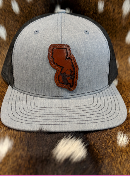 State of New Jersey Bowfisherman PATCH Hat - ShirtGuys.com