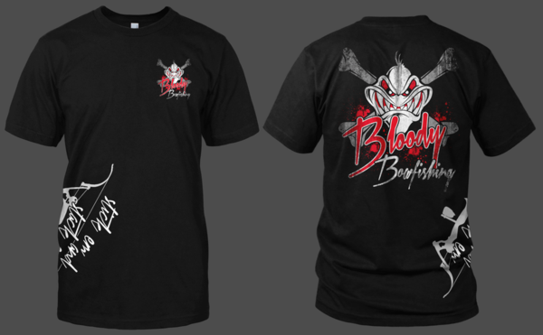 Bloody Bowfishing printed on Tshirts and Hoodies - Shirt Guys Bowfishing and Hunting T-Shirts