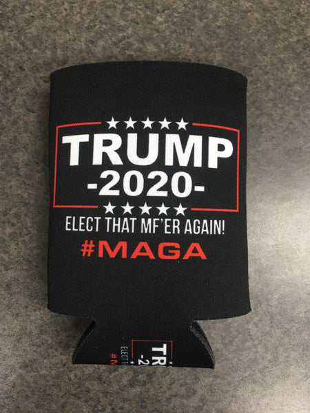 #MAGA TRUMP 2020 Koozies - Shirt Guys Bowfishing and Hunting T-Shirts