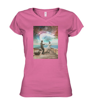 Boardwalk Dance Women's V-Neck Tee