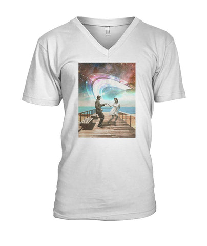 Boardwalk Dance Men's V-Neck Tee