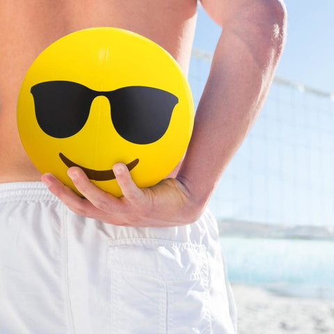 12 Emoji Beach Bums 12-pack - Beach Gear