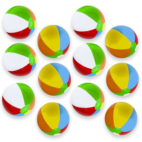 12-Pack 16 Beach Balls - Beach Gear