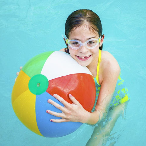12-Pack 12 Beach Balls - Beach Gear