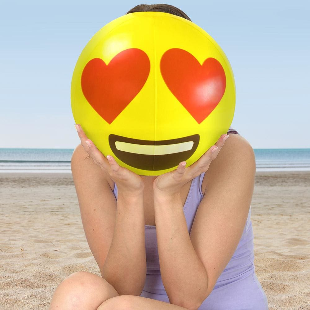 18 Emoji Beach Bums 6-pack - Beach Gear