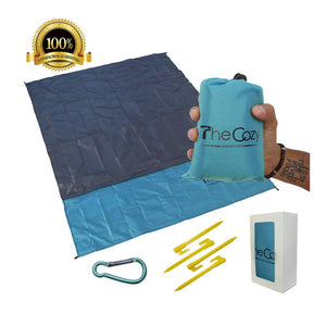 The Cozy Sand Free Compact Beach Blanket