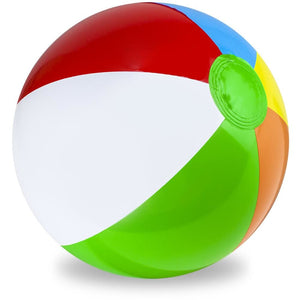 36 Six-Color Beach Ball - Beach Gear