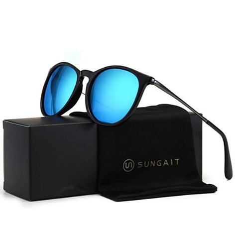 Image of Vintage Round Sunglasses for Women