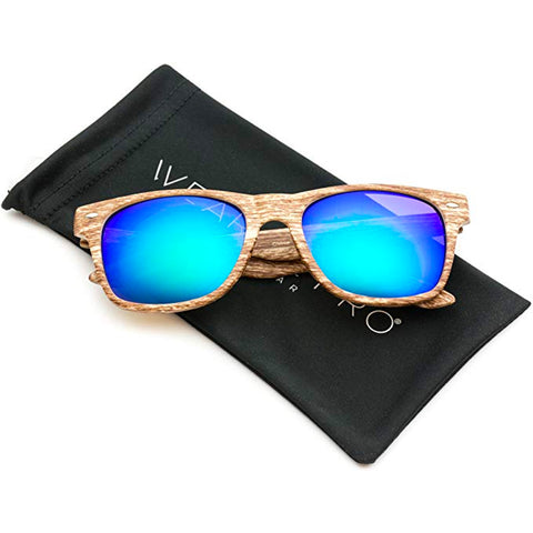 Image of Revo Wood Print Sunglasses