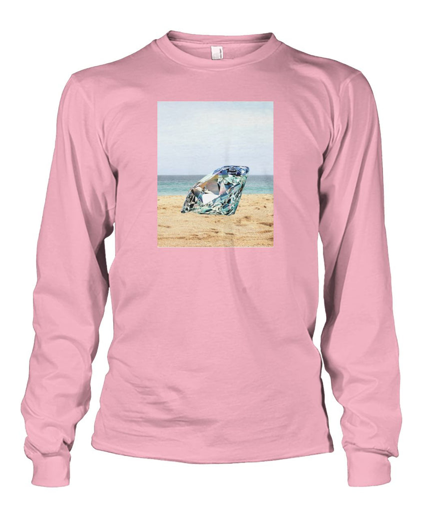 Diamond On The Beach Long Sleeve