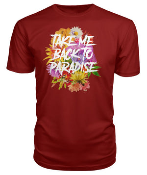 Take Me Back To Paradise Premium Tee