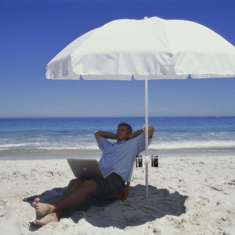 Beach Umbrella Cup Holder - Beach Gear