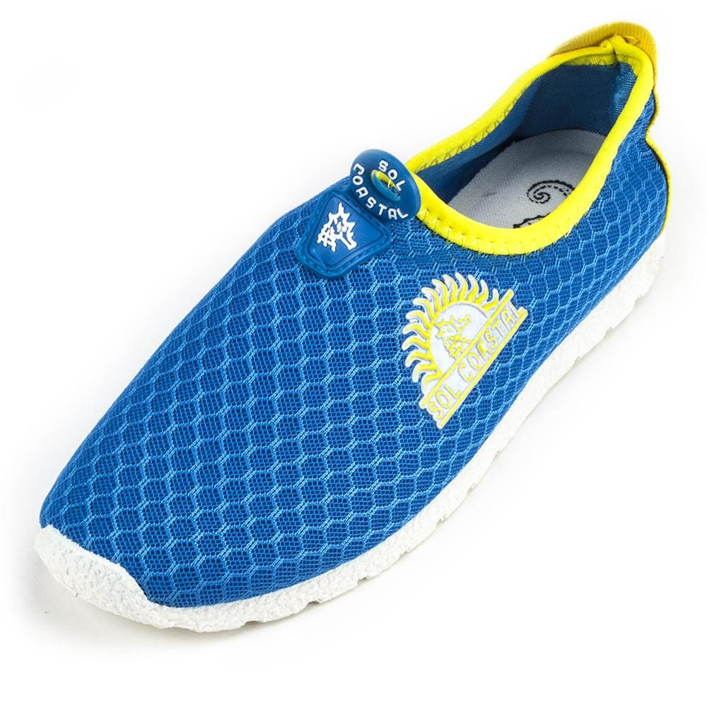 Blue Womens Shore Runner Water Shoes Size 7 - Beach Gear