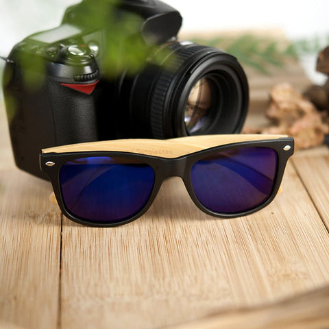 Image of Bobo Bird Bamboo Polarized Sunglasses