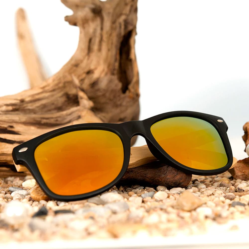 Bobo Bird Bamboo Polarized Sunglasses