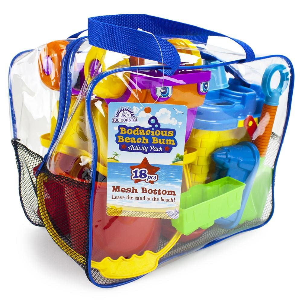 Bodacious Beach Bum Activity Pack - Beach Gear