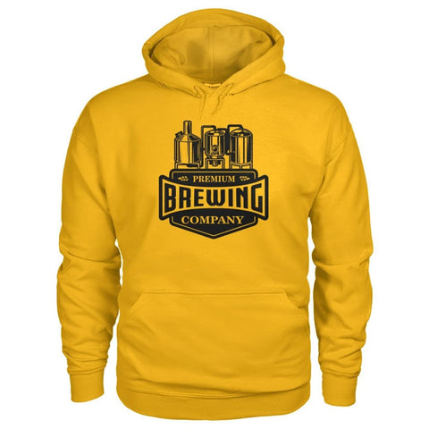 Image of Brewing Company Hoodie - Gold / S - Hoodies