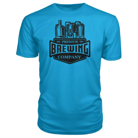 Image of Brewing Company Premium Tee - Carribean Blue / S - Short Sleeves
